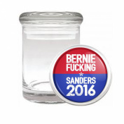 Bernie Fucking Sanders Medical Odourless Glass Jar