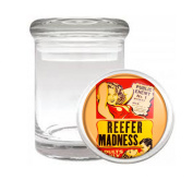 Reefer Madness Medical Odourless Glass Jar