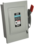 SIEMENS GNF322 60 Amp, 3 Pole, 240-Volt, 3 Wire, Non-Fused, General Duty, Indoor Rated