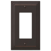 Step Design GFCI Decora Rocker Wall Switch Plate Outlet Cover - Oil Rubbed Bronze