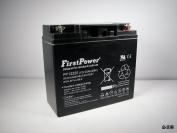FirstPower 12v 22ah for CB19-12, ES1217, UB12200, LC-RD1217P