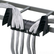 Panduit CMW-KIT Cable Management Waterfall Kit, Black