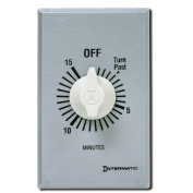 Intermatic SW15MK 15-Minute Spring Wound Timer, Grey