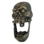 Knock-Jaw Skull Cast Iron Door Knocker