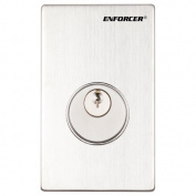 Enforcer Mortise Cylinder Key Switch - SD-72081-6MQ