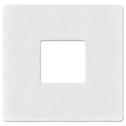 RETRO Intercom Room & Patio Station Large Plastic Cover Plate - White - RETRO-8AT