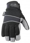 Wells Lamont 7745M Cold Weather Gloves, Synthetic Leather Palm, Spandex Back, Neoprene Wrist, G60 Thinsulate, Medium