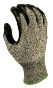 G & F 10600AXL CUTShield Slash Resistant Gloves, Nitrile Coated, Grey, X-Large