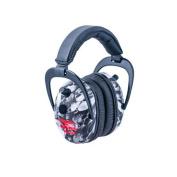 Pro Ears Pro 300 Wind Abatement Hearing Protection NRR 26dB Headset, Skulls P300