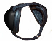 Mutt Muffs DDR337 Hearing Protection for Dogs, Black, Large