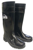 SAS Safety 7130-11 Rubber Work Boots with Non-Steel Toe, 41cm Tall, Size-11