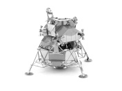 Boxiang 3D Metal Assembly Model of Three-Dimensional Assembled Jigsaw Puzzle Hand Assembled DIY Creative Toys Lunar Module