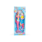 BLE Magical party Mermaid Dolls 36cm children's birthday gift pink