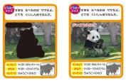 Ofuro DE card picture book / animal
