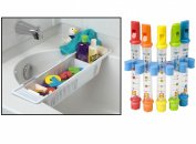 KidCo Bath Toy Organiser Storage Basket with BONUS Water Flutes