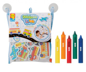 ALEX Toys Beep Beep Stickers for the Tub with Crayons