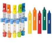 Alex Toys Water Bath Flutes & Bath Crayons