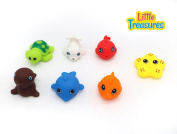 Babybath Floating Toys for  .   and up to pre-school baby and toddler to enjoy the bath time, bath toy squirts underneath water and squeeze