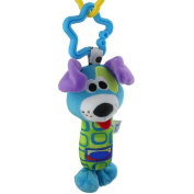 Gifts Are Blue Plush Blue Dog Hand Rattle Toy for Baby