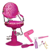 Our Generation Salon Chair - Hot Pink Paisley