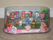 Disney Princess Palace 9 Mini Pets Whisker Haven Tales Figure Giftset #2