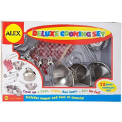 Alex Toys - Deluxe Cooking Set - Stainless Steel