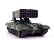 Soviet TOS-1 Multiple Rocket Launcher - Thermobaric Weapon 1/72 Scale Diecast Model