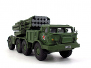 Soviet BM-27 Uragan-Hurricane Multiple Rocket Launcher 1/72 Scale Diecast Model