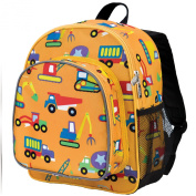Wildkin Olive Kids Under Construction Pack 'n Snack Backpack (Under
