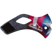 Elevation Training Mask 2.0 Merica Sleeve - Red-White-Blue