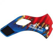 Elevation Training Mask 2.0 Super Steel Sleeve - Blue-Red