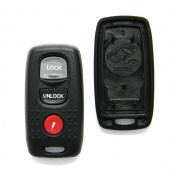 Replacement Case for Mazda Keyless Entry Remote Fob 3-Button (FCC ID