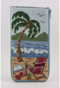 Eyeglass Case - At The Beach - Needlepoint Kit