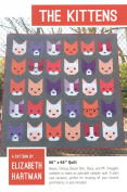 The Kittens Elizabeth Hartman 3 Quilt Sizes Pattern Piecing