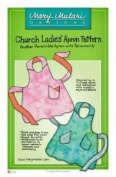 Mary Mulari Designs Church Ladies Apron Pattern