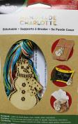 Bucilla 86489 Wood Stitchable Shapes Kit, 7.6cm by 7.6cm , Snowman