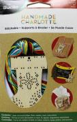 Bucilla 86499 Wood Stitchable Shapes Kit, 7.6cm by 7.6cm , Stocking