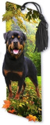 Dimension 9 3D Lenticular Bookmark with Tassel, Rottweiler, Pet Breed Series