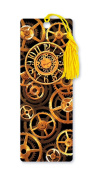Dimension 9 3D Lenticular Bookmark with Tassel, Steampunk Watch Gears in Motion