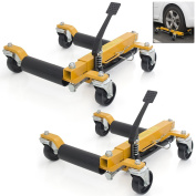 Vehicle Positioning Rolling Jack 23cm , Tyre Dolly 360° Skate, Lot of