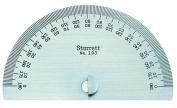 Starrett 193 Steel Protractor, 0-180 Degree Range