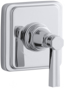 Pinstripe Volume Control Trim, Lever Handle, Valve Not Included Finish
