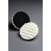 Buffing Pad 01912, 13cm - 0.6cm White Foam, 10 per inner 50 per case