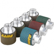 5.1cm Dry Polishing Drum Wheels Set of 7 PCS for Granite/Marble/Concrete Sink Cutouts