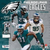 Cal 2017 Philadelphia Eagles 2017 12x12 Team Wall Calendar