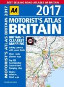 AA Motorist's Atlas Britain 2017