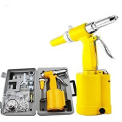GHP 0.5cm Rivet Capacity Hydraulic Pneumatic Air Riveter Rivet Gun Tool Kit