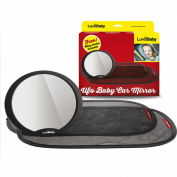 Baby Car Mirror - Back Seat Rear Facing Auto Mirror in Gift Box - Free 2 Pack of Car Sun Shades