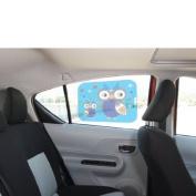Who-Rae Owl Car Cling Shade