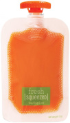Infantino Squeeze Pouch, Clear, 4 Fluid Ounces